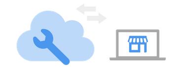 Obraz przedstawiający pomoc w konfiguracji sklepu internetowego