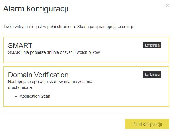 Jak zweryfikować własność domeny w usłudze SiteLock?