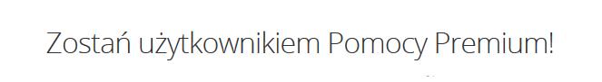 Pomoc Premium dedykujemy najbardziej wymagającym Klientom home.pl