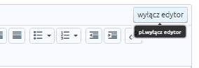 eSklep - Konfiguracja - Wygląd - Aktywny styl graficzny - Moduły - Dodaj moduł - Kliknij przycisk Wyłącz edytor