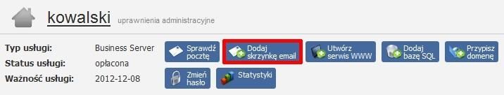 Samodzielne tworzenie kont email w modelu Hybrydowym – połączenie Office 365 z pocztą home.pl