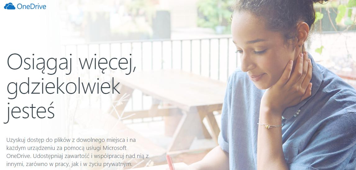 Czym jest OneDrive i OneDrive dla Firm?