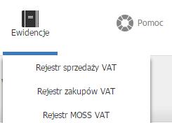 Jak wykonać eksport rejestrów VAT do pliku CSV?