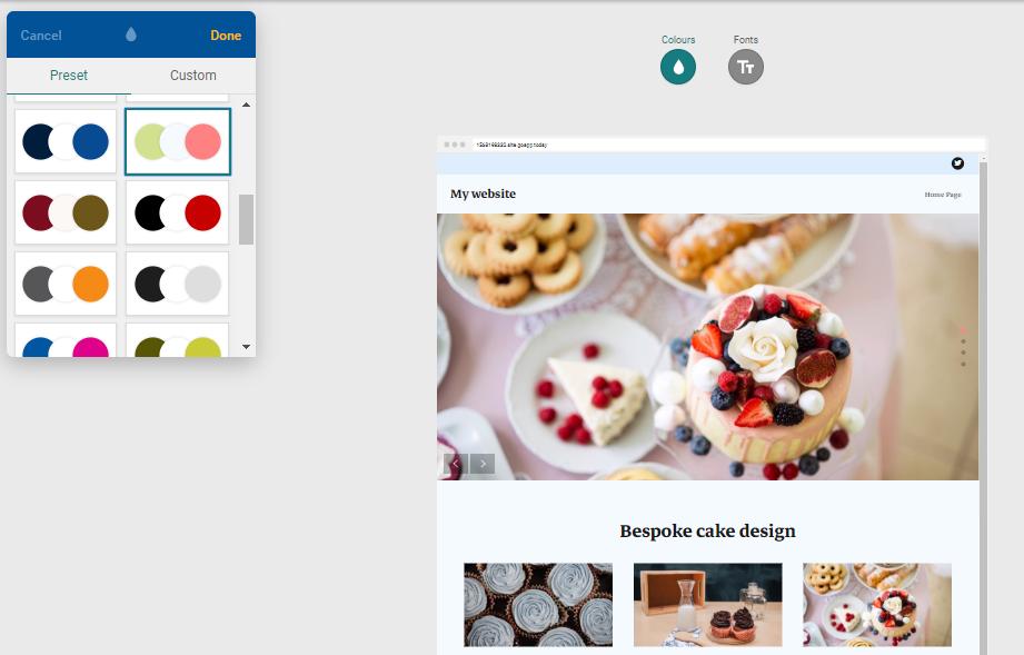 Zmiana wyglądu i kolorystyki szablonu strony WWW