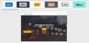 Zmiana wyglądu strony WWW w kreatorze stron internetowych