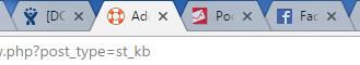 Przeglądarka internetowa - Zakładki - Przykładowe ikony Favicon, które pomagają odróżnić zakładki obok siebie