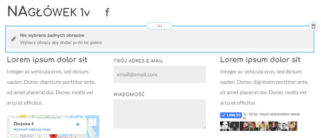 Wstawianie modułu na stronie WWW.