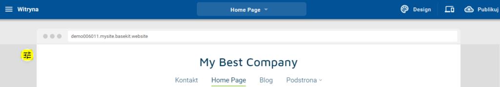 Jak zmienić wygląd i zawartość nagłówka i stopki strony WWW?