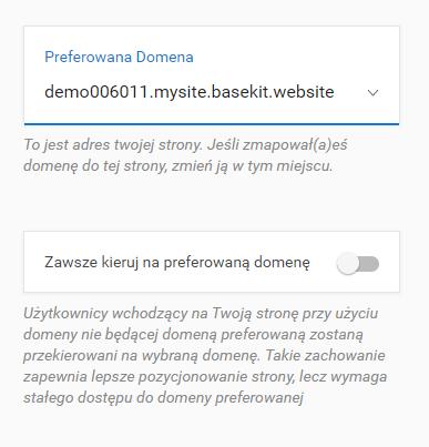 Jak zmienić adres strony w kreatorze WWW?