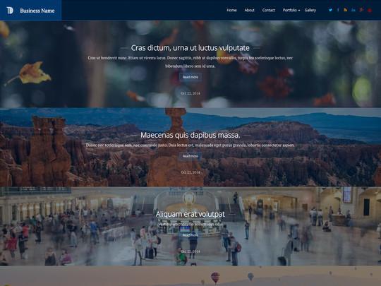 Szablon graficzny dostępny w pakiecie Click Web Unlimited - Business Name