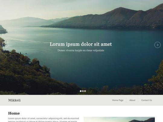 Szablon graficzny dostępny w pakiecie Click Web Unlimited - Mikkeli