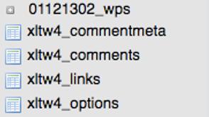 prefix tabel wp 2 - WordPress – metody zabezpieczania strony WWW