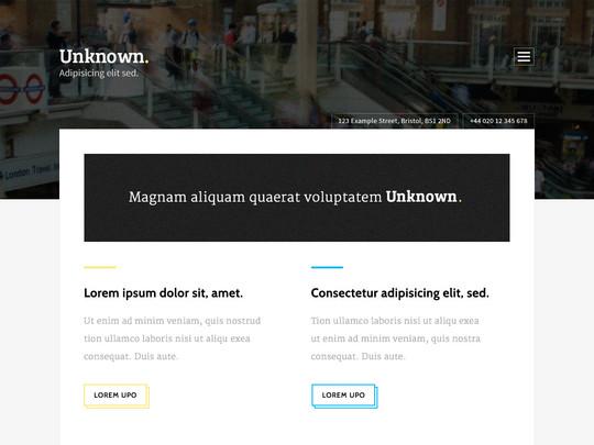 Szablon graficzny dostępny w pakiecie Click Web Unlimited - Unknown