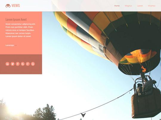 Szablon graficzny dostępny w pakiecie Click Web Unlimited - Views