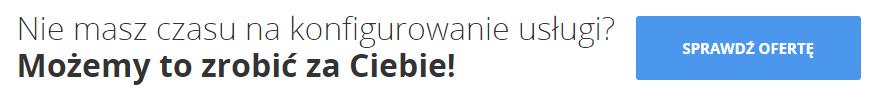 Nie masz czasu na konfigurowanie usługi? - Sprawdź ofertę - Cennik eSklepu od home.pl