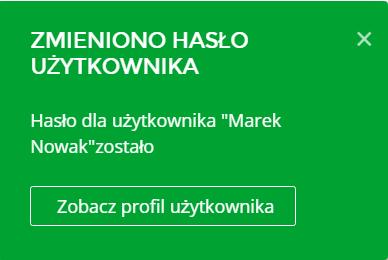 Panel Klienta home.pl - Użytkownicy - Nazwa użytkownika - Zmień hasło - Nowe hasło - Komunikat potwierdzający zmianę hasła