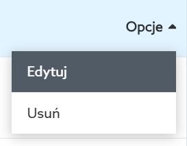 Panel Klienta home.pl - Domeny - Skonfiguruj DNS hostingu - Zarządzaj rekordami DNS - Opcje - Kliknij przycisk Edytuj