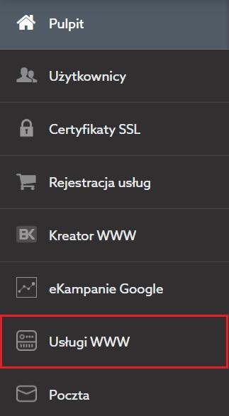 Usługi WWW