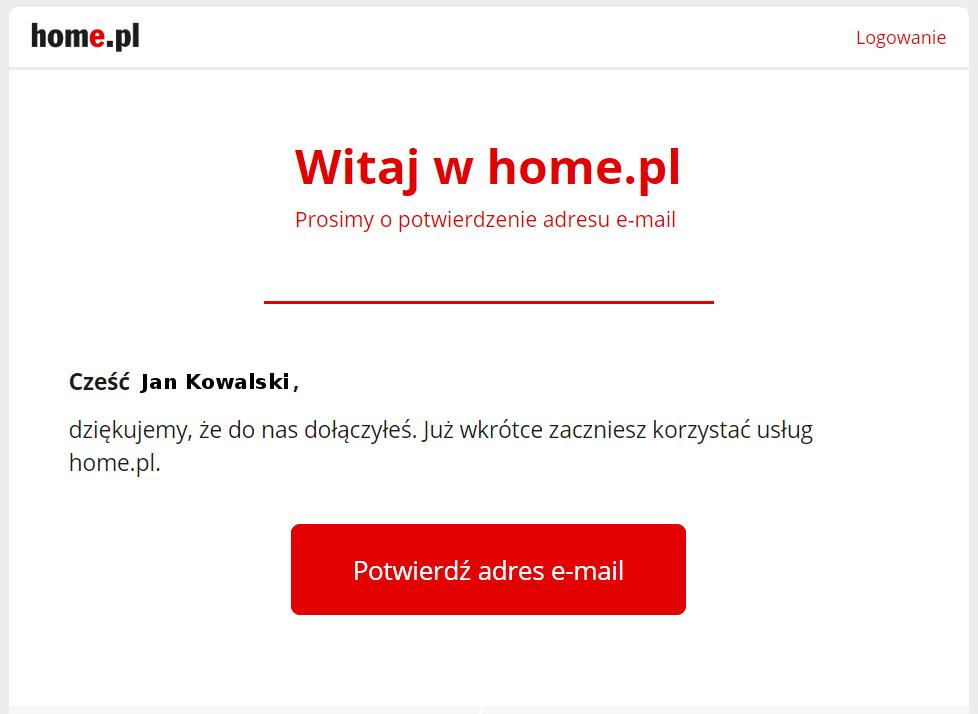 Jak potwierdzić adres e-mail po rejestracji?