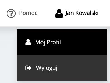 Panel klienta home.pl - Nazwa użytkownika - Kliknij przycisk Wyloguj, aby zakończyć pracę z Panelem klienta