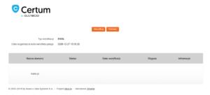 Centrum by asseco - Kliknij przycisk Weryfikuj, aby potwierdzić adres e-mail