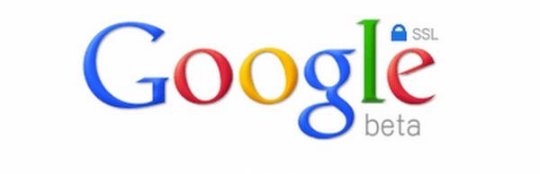 Logo wyszukiwarki Google, która korzysta z szyfrowanych połączeń SSL