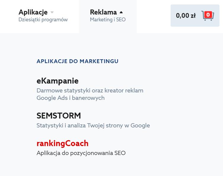 Jak zarejestrować RankingCoach w home.pl i rozpocząć pracę?