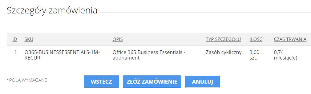 cp.market.home.pl - Wybierz typ usługi - Zasoby subskrypcji - Zwiększ limit zasobów - Zmień zasoby subskrypcji - Szczegóły zamówienia - W kolejnym kroku potwierdź poprawność wprowadzonych zmian