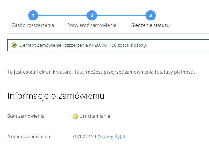cp.market.home.pl - Konto - Dokumenty finansowe - Informacje o zamówieniu - Sprawdź informacje o nowym zamówieniu oraz płatności