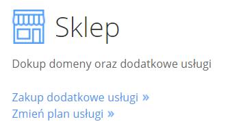 cp.market.home.pl - Sklep - Kliknij przycisk Zakup dodatkowe usługi