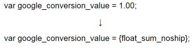 eSklep - Konfiguracja - Integracje - Integracje własne - Potwierdzenie złożenia zamówienia - Dokonaj modyfikacji w otrzymanym kodzie, zmieniając jedną z wartości wg. poniższego schematu