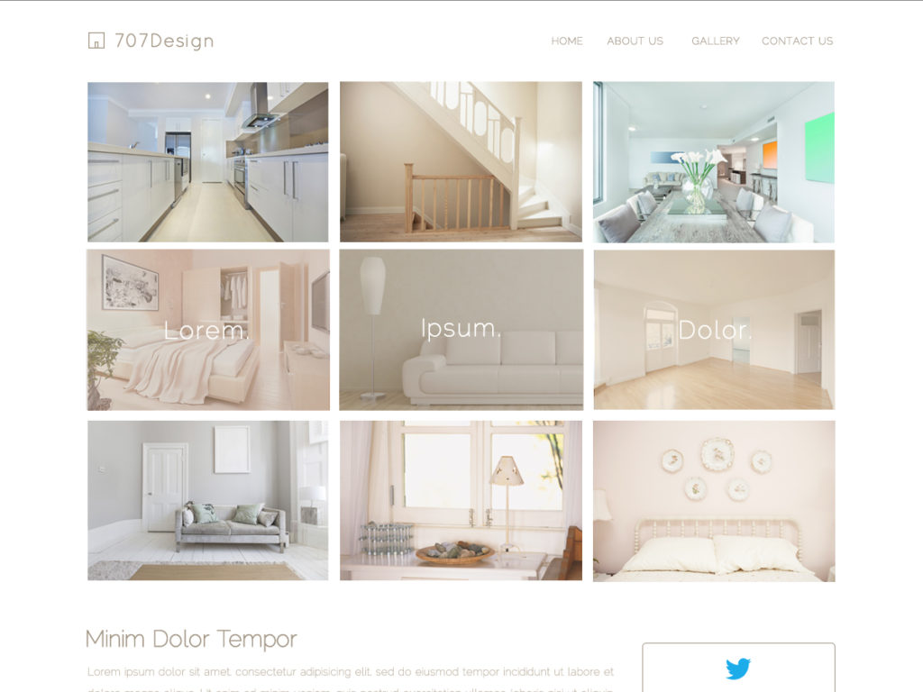 Szablon graficzny dostępny w pakiecie Click Web Premium - 707Design