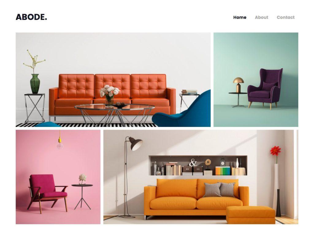 Szablon graficzny dostępny w pakiecie Click Web Premium - Abode