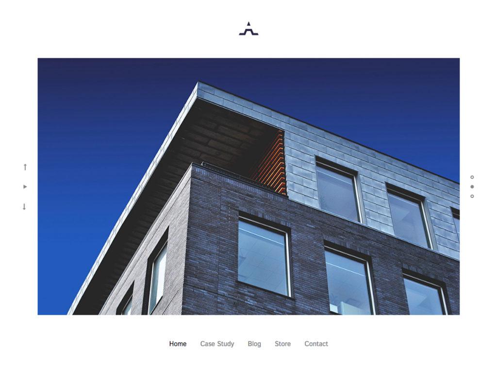 Szablon graficzny dostępny w pakiecie Click Web Premium - Architect