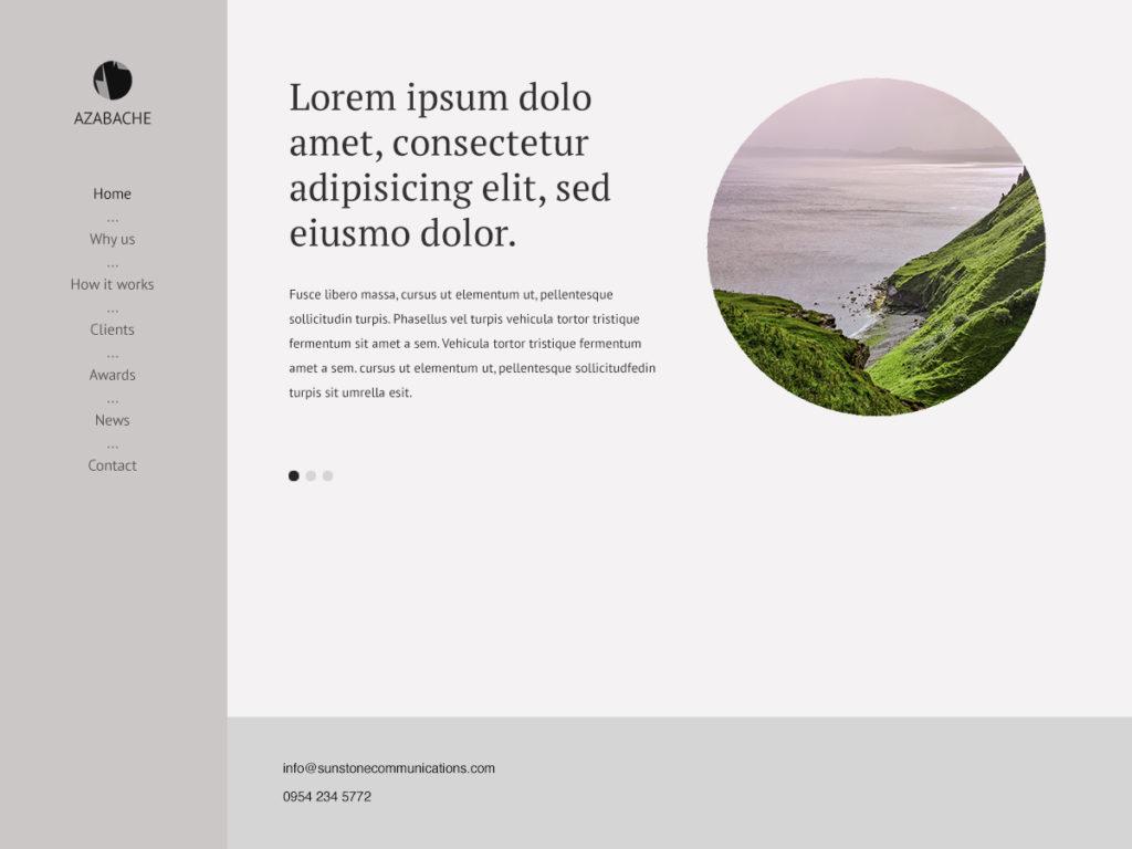 Szablon graficzny dostępny w pakiecie Click Web Premium - Azabache