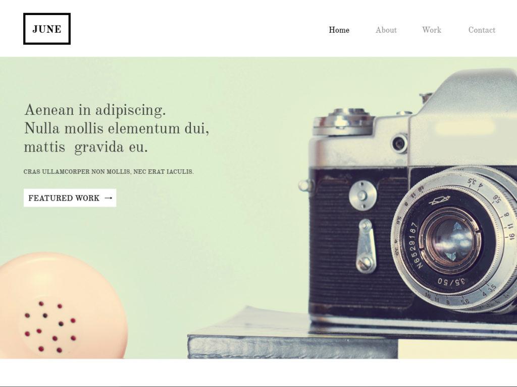 Szablon graficzny dostępny w pakiecie Click Web Premium - June