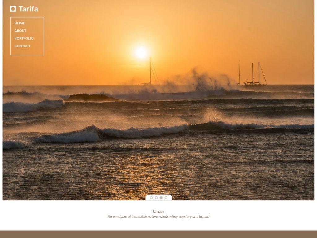 Szablon graficzny dostępny w pakiecie Click Web Premium - Tarifa
