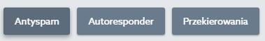 Panel klienta home.pl - Poczta - Skrzynki e-mail - Kliknij przycisk Antyspam
