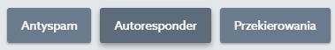 Panel Klienta home.pl - Poczta - Skrzynki e-mail - Kliknij przycisk Autoresponder