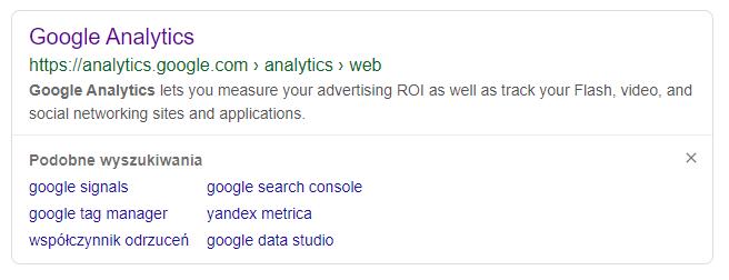 Pobieranie kodu śledzenia Google Analytics
