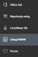 Jak zmienić hasło do usługi przez nowy Panel klienta?