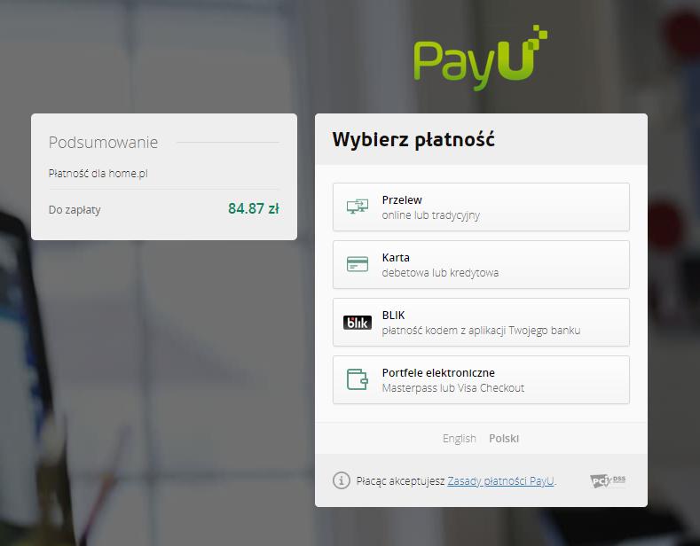 eSklep - Aplikacje - Aplikacje - Integracja z Incom - Zainstaluj - Zamawiam - Wybierz formę płatności i opłać aplikację