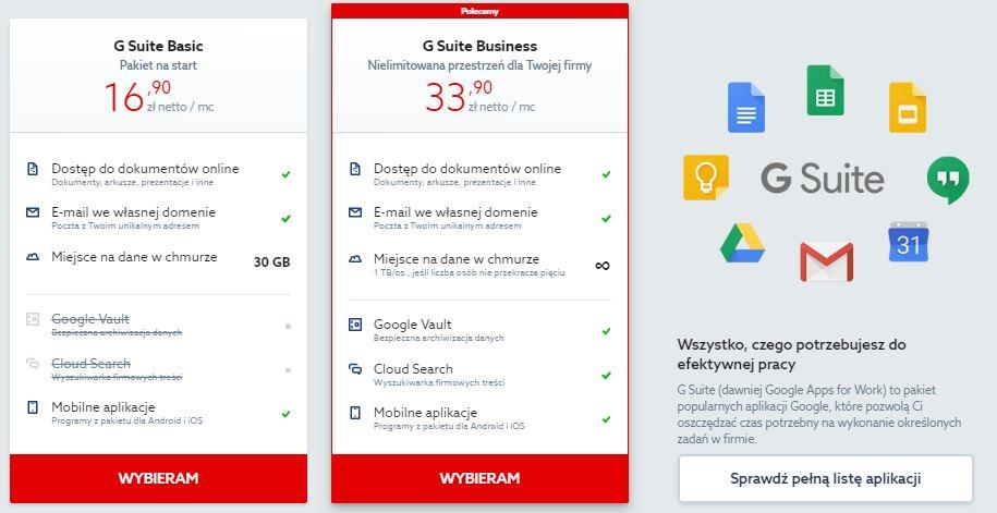 Jak zarejestrować usługę G Suite i rozpocząć pracę z pocztą Gmail dla firm