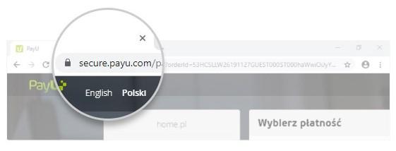 Podczas płatności online sprawdź w pasku adresu czy znajduje się ikona kłódki oraz zweryfikuj adres strony.