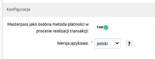 Jak włączyć płatność Masterpass® w eSklepie home.pl?