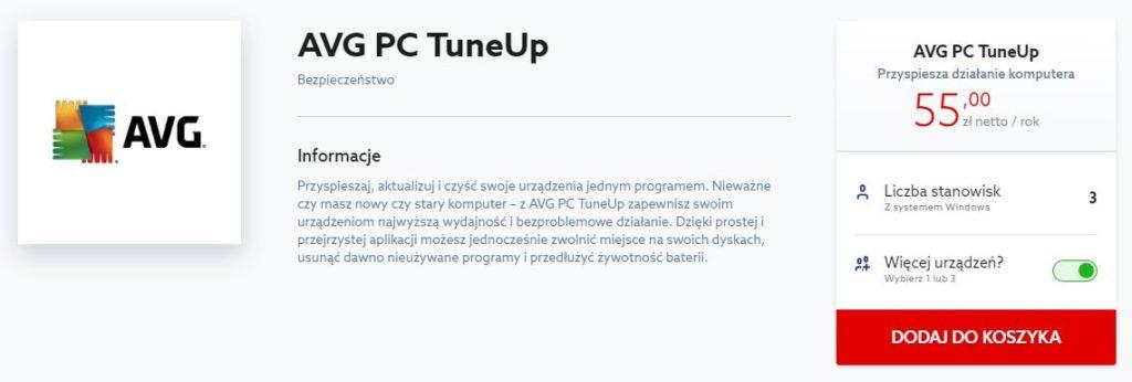 Home.pl - Marketplace - AVG PC TuneUp - Wskaż liczbę licencji i dodaj je do koszyka