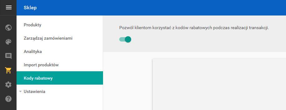 Jak utworzyć kody rabatowe?