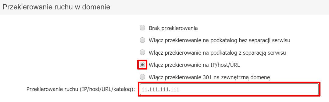Jak w starym Panelu klienta skierować domenę na DNS home.pl i skierować ruch WWW i poczty na zewnątrz?
