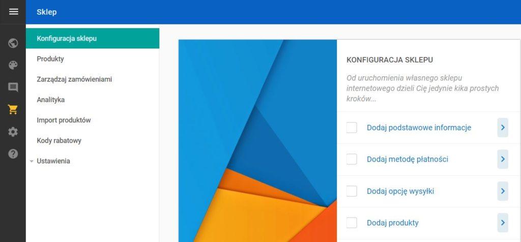 Click Web - Sklep - Konfiguracja sklepu - Przejdź do opcji Dodaj metodę płatności