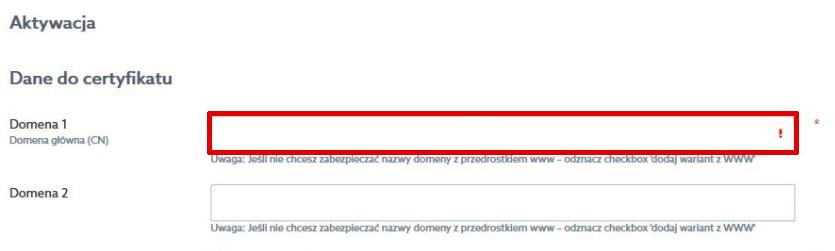 Certyfikat Multidomain, czyli SSL dla wielu domen